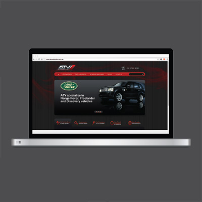 ATV Automotive Website