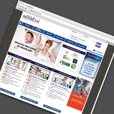 mdBriefcase Website